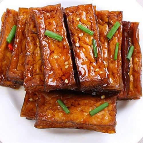 美味蜜汁卤豆腐