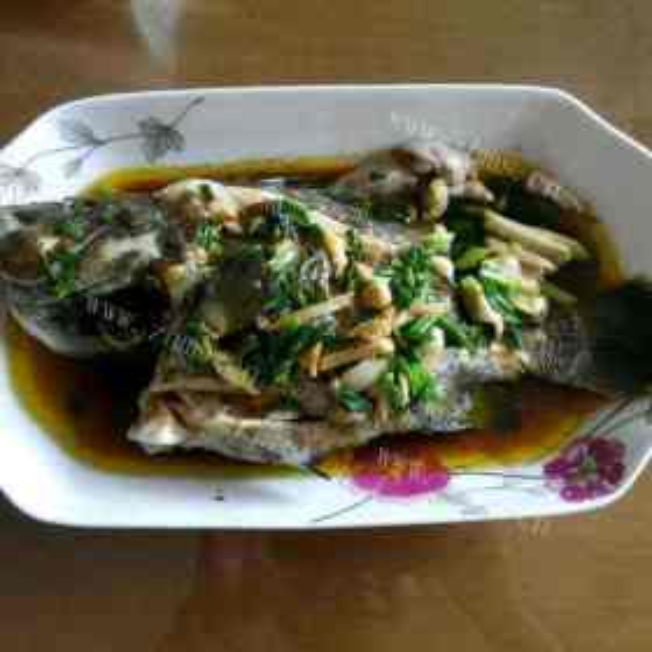 豉汁蒸石斑鱼