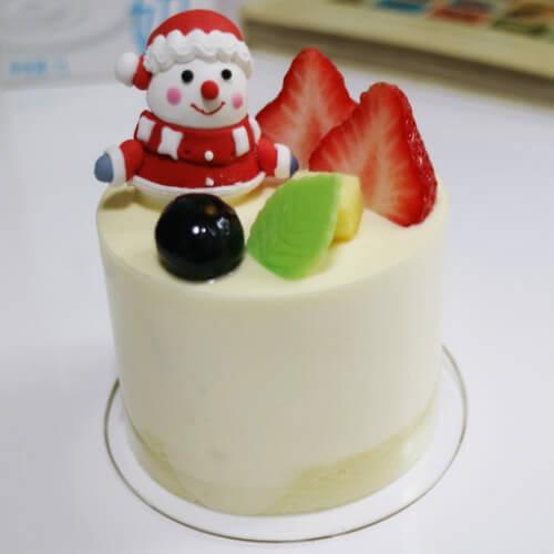 美味圣诞草莓迷你蛋糕