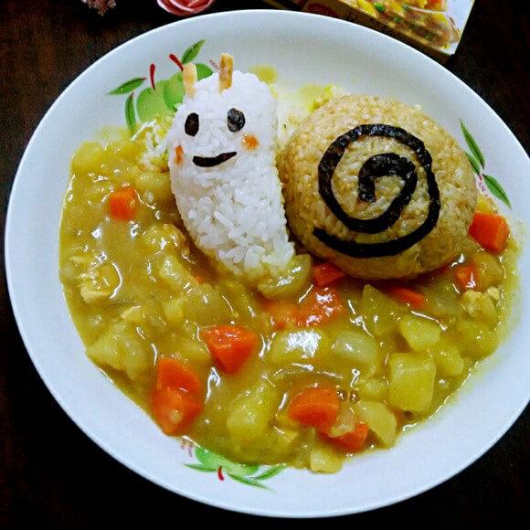 蜗牛咖喱饭