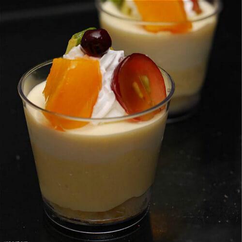 自制百香果酸奶冰激凌