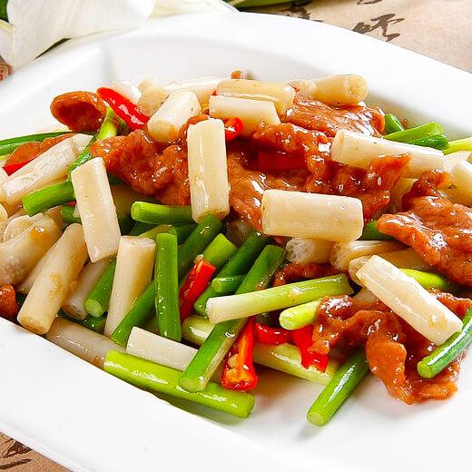 肉炒辣椒藕