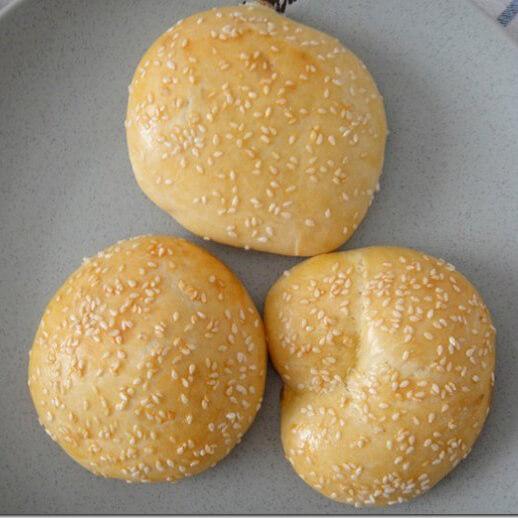 南瓜燕麦芝麻饼