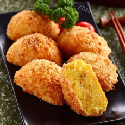 好吃的日本鲜虾可乐饼