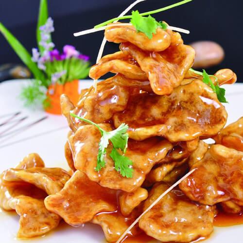 葡萄干梅酱锅包肉
