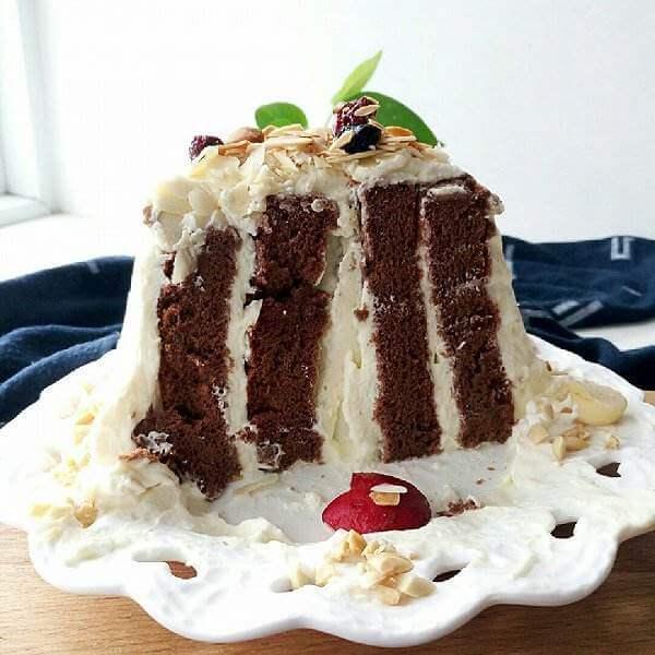 可可漩涡蛋糕