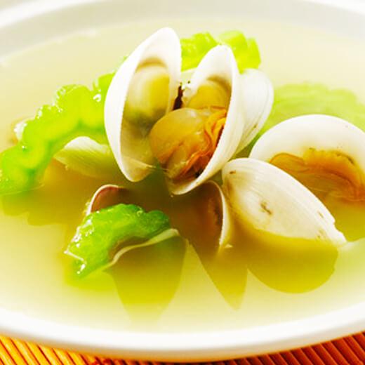 蛤蜊芥菜汤