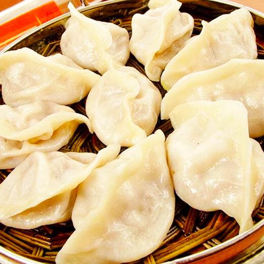 茴香鸡蛋饺子蒸饺