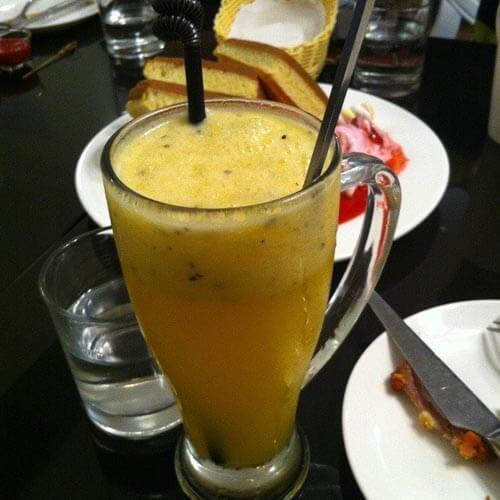 好喝的百香果橙汁