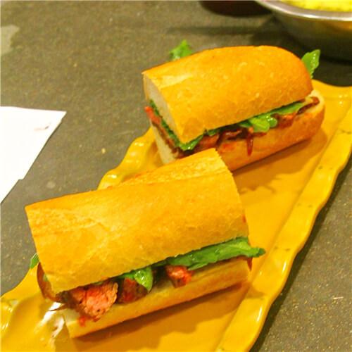扒蔬菜三明治