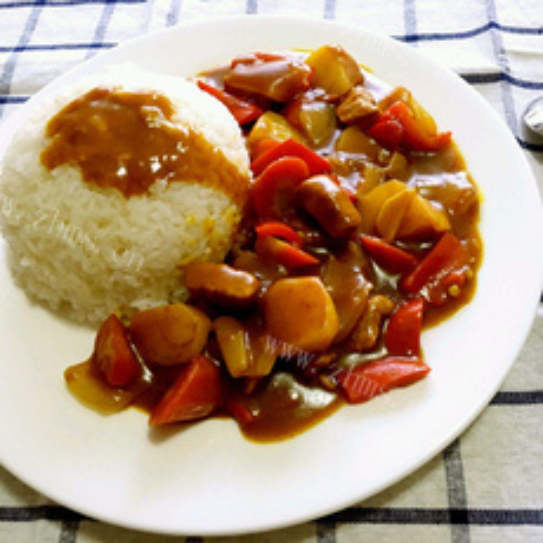 美味咖喱洋葱土豆