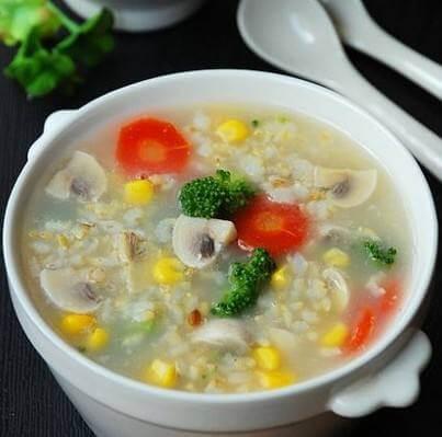 蔬菜烂面粥
