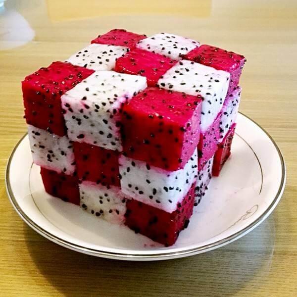 红火龙果饼