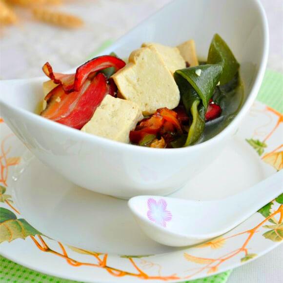腊味海带炖豆腐