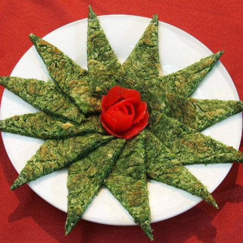 美味的芹菜饼子