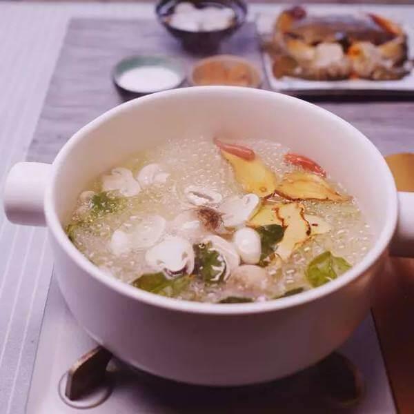 番茄芦笋蛤蜊粥
