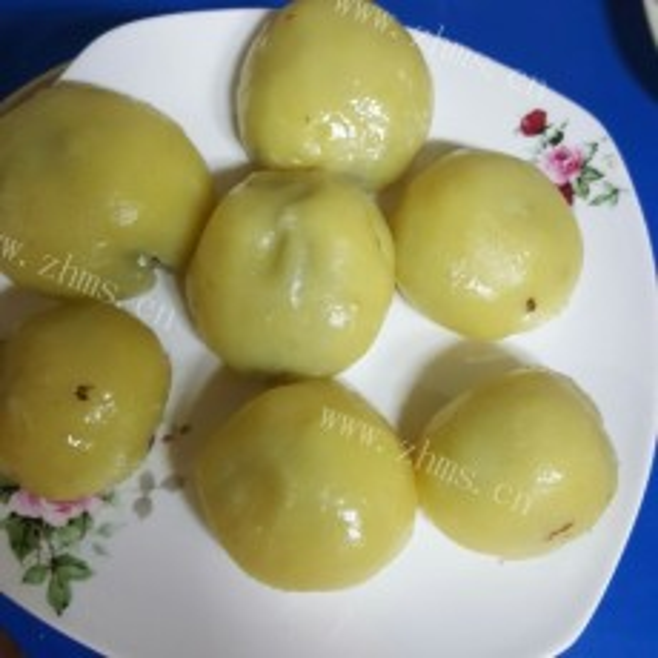 可口美味的福清番薯丸