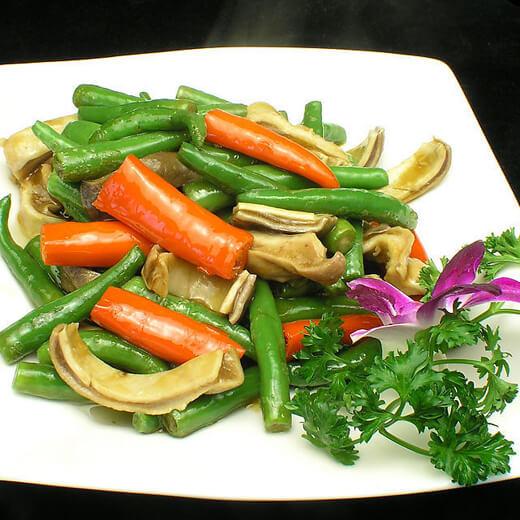 笋干菜尖椒炒猪肚