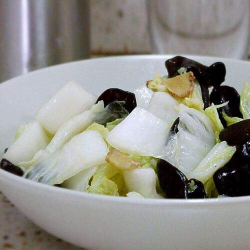 木耳烩白菜