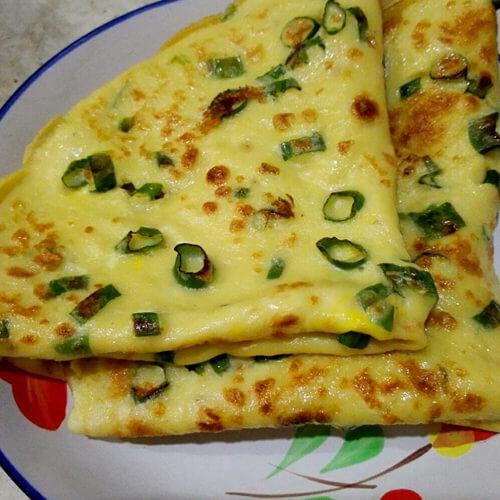 美美厨房之香椿鸡蛋饼