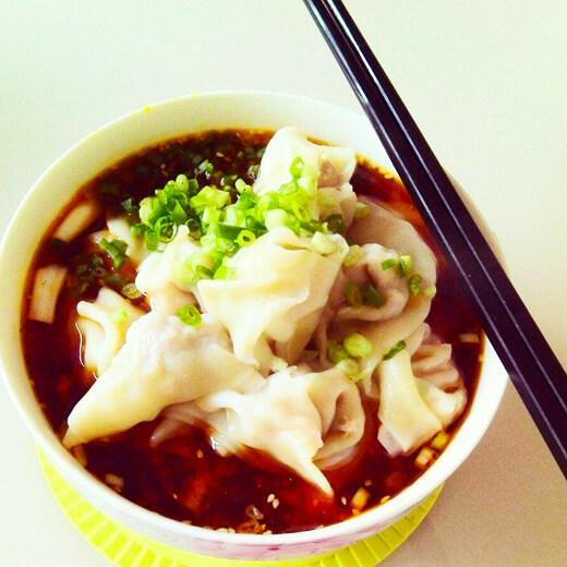 扇贝彩椒水饺
