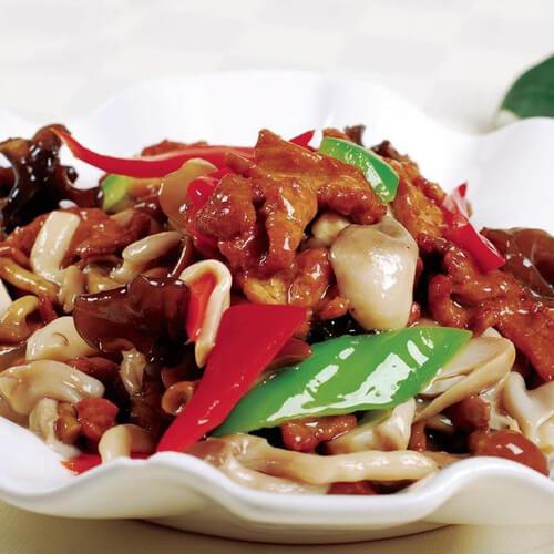 三味烤菌菇