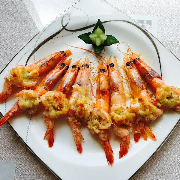 芝士蒜蓉焗大虾