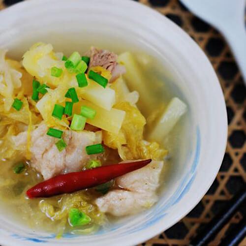好吃的腌菜煮宝宝食谱每天一的洋芋周四图片