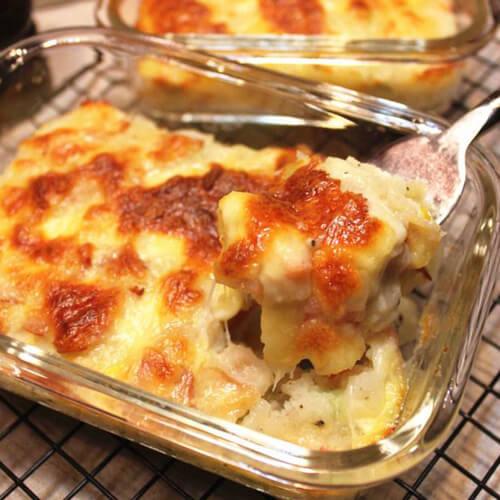美味的培根焗薯蓉