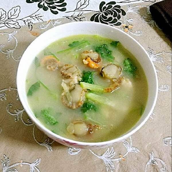 全贝萝卜汤