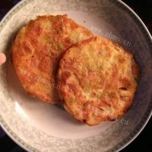 辣椒火腿烤饼