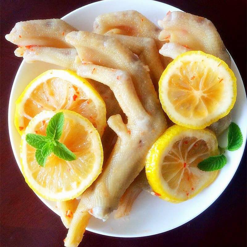 蔬菜柠檬泡爪