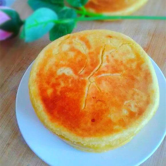 南瓜面小圆饼