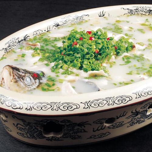 鲫鱼豆腐芫荽汤