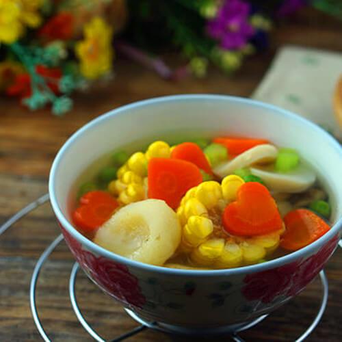 素珍玉米田园汤