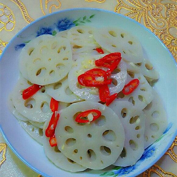 美味酸香莲藕片