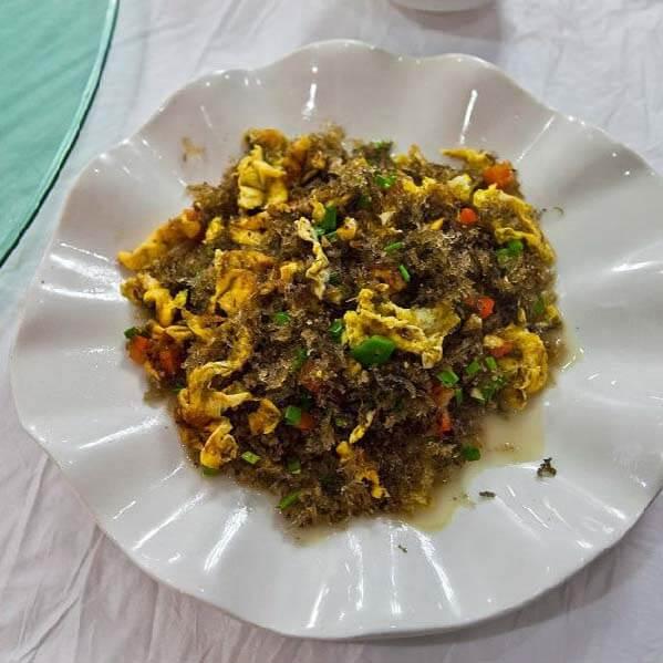竹燕窝炒鸡蛋