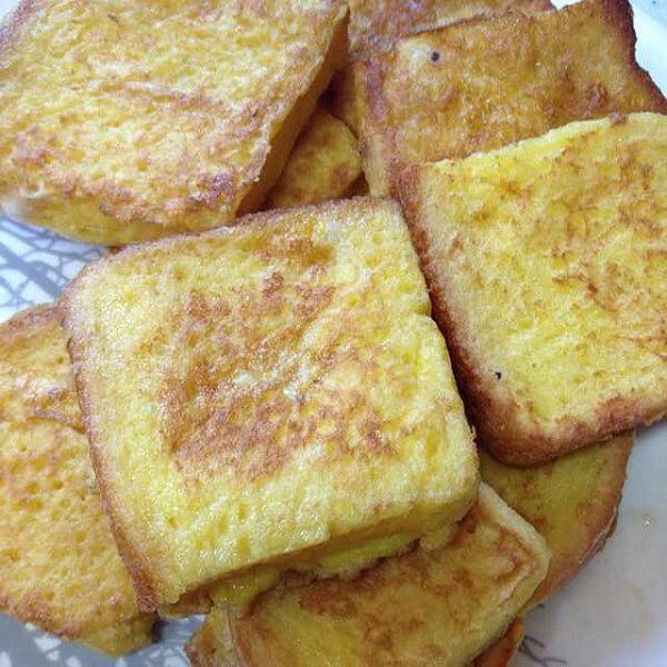 黄油香厚饼