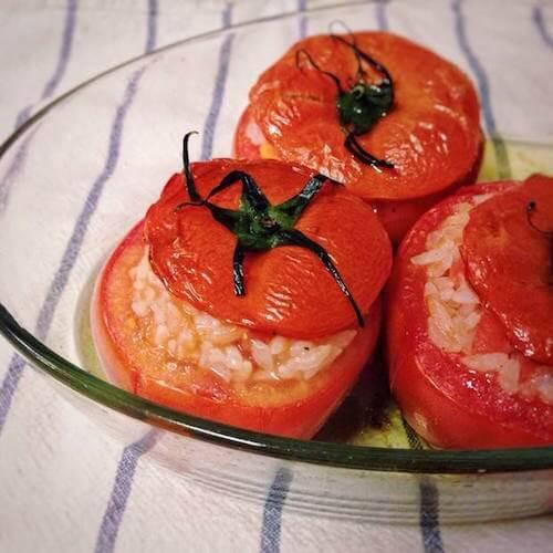罗勒蒜蓉烤番茄