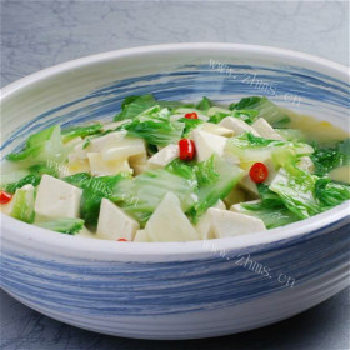 烩白菜豆腐