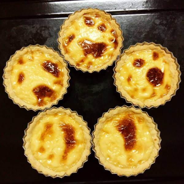 简易版原味蛋挞