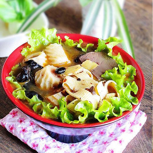 鱼丸什锦养生汤