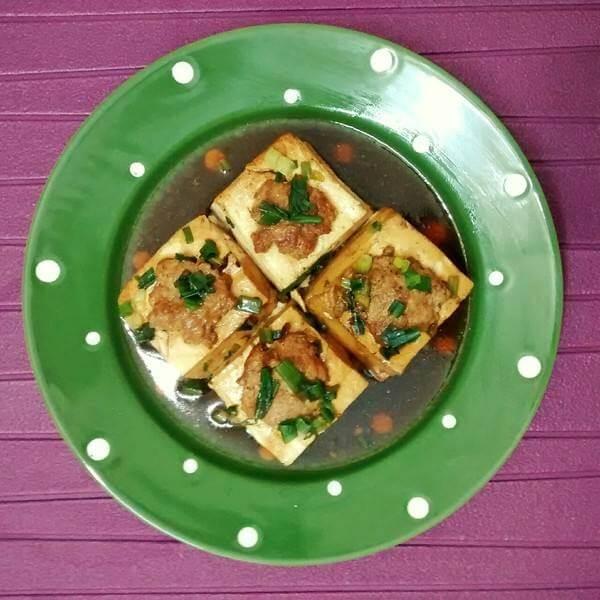 酿豆腐和酿菜包