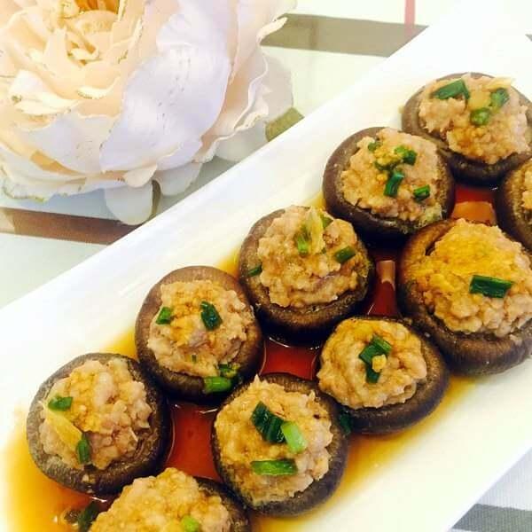 鲜香菇酿肉