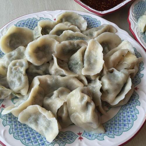 营养青汁荠菜水饺