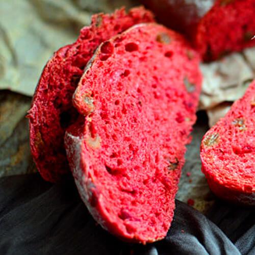 红菜头核桃面包