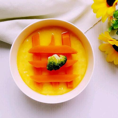 胡萝卜花蛋羹
