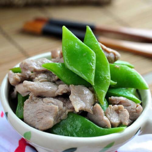 扁豆角炖肉