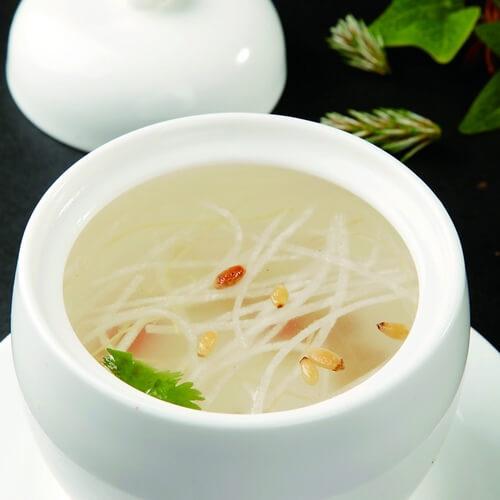 豆腐萝卜丝汤