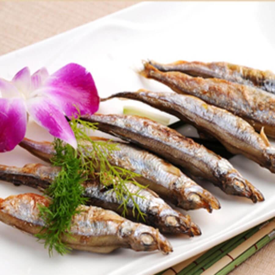 盐烤小杂鱼